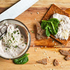 Постная намазка из тофу и грецких орехов