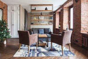 Квартира-студия для краткосрочной аренды на Трубной