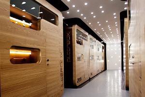 Новое место: Капсульный отель Sleepbox Hotel Tverskaya