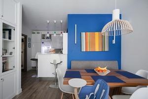 Трёхкомнатная квартира в скандинавском стиле на берегу озера