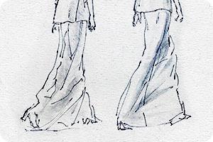 Клуб рисовальщиков: Показ мод
