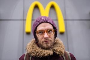 Очередь в закрытый «Макдоналдс» на Пушкинской