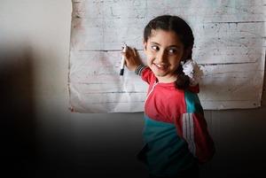 Дети, которых нет: Как проходят занятия в ногинской школе для сирийских беженцев