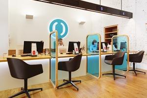 Отделение банка «Открытие», совмещённое с кофейней