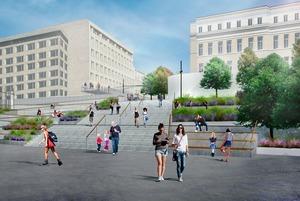 Как будет выглядеть новый вход в парк Горького