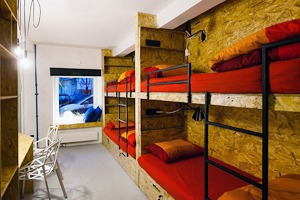Интерьер недели (Петербург): Simple Hostel