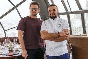 Владимир Мухин и Борис Зарьков: «Многие шефы ездят готовить за деньги, а к нам — бесплатно»