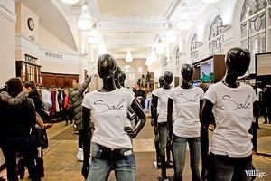 Финальные распродажи в магазинах Петербурга