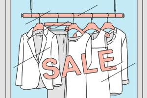 Есть вопрос: «Что делают с нераспроданной одеждой и обувью?»