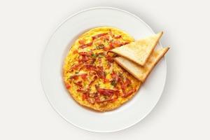 Завтраки дома: Омлет с чоризо из UDC