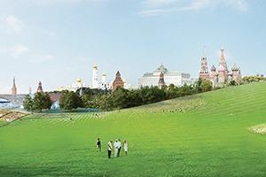 Парк в Зарядье: Проекты победителей и мнения экспертов
