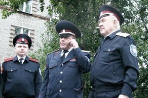 Воины ЮВАО: Казачий патруль на улицах Москвы