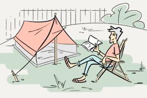 Можно ли жить в палатке в черте города?