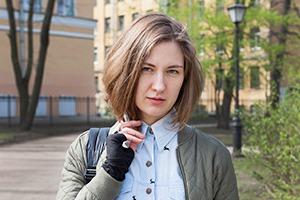 Марина Колбакова, совладелица магазина одежды «Мыльная Белка»