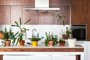 Трёхкомнатная квартира с отделкой из натуральных материалов