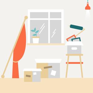Как делать ремонт в съёмной квартире