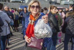 Как в Новороссийске проходил первый фестиваль черноморской рыбы «Хамса»