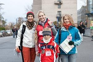 Нестандартная ориентация: Участники соревнований «Бегущий город»