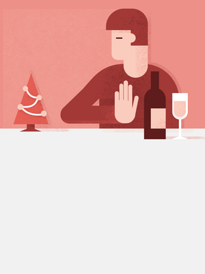 Как отказаться от алкоголя за новогодним столом?