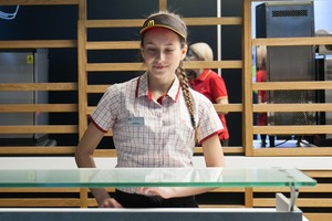 Вновь открывшийся «Макдоналдс» на «Пушкинской»