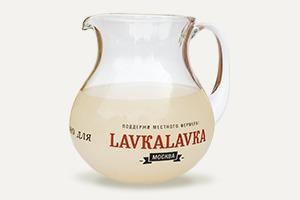 Белый квас из кафе LavkaLavka