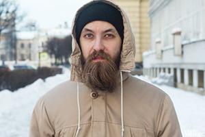 Внешний вид: Роман Паринов, рок-музыкант