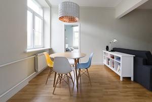 Функциональная квартира с бюджетным ремонтом для мамы и дочери