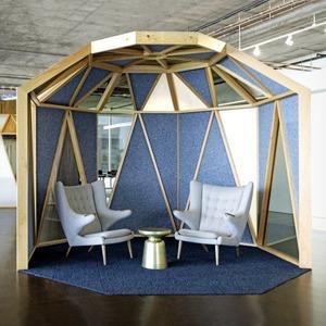 Новые подходы к организации офисного пространства