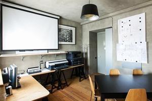 Офис бюро Archido в мансарде