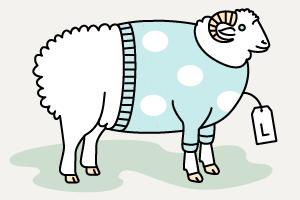 Инфографика: Из чего делают свитеры и футболки