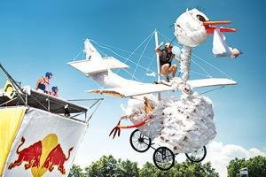 Полёт ненормальный: Участники Flugtag — о своих летательных аппаратах