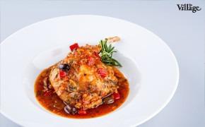 Рецепты шефов: Ножка кролика, тушеная с грибами