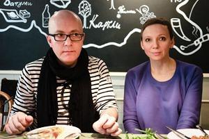 Азамат и Наталья Цебоевы о «Хачапури»