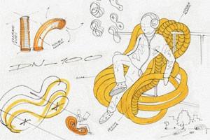 Идеи для города: Мебель из труб в Гамбурге