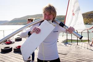 Как в Абрау-Дюрсо проходила всероссийская парусная регата Abrau Sailing Cup