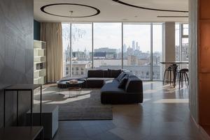 Квартира-трансформер с панорамным видом на центр Москвы