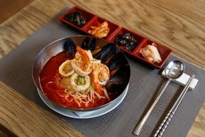 Семейный корейский ресторан «Новая Азия» на «Тульской»