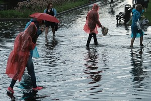Очередной потоп в Москве