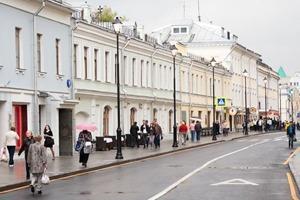 Обновлённые улицы Покровка и Маросейка