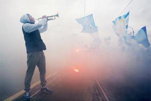 Как Петербург праздновал победу «Зенита» вчемпионате России