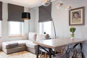 Квартира в спокойных тонах в новом доме на Кутузовском