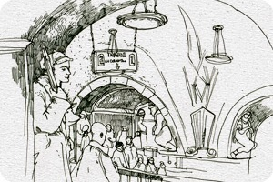 Клуб рисовальщиков: Метро