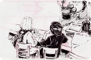 Клуб рисовальщиков: Бар «Куклы пистолеты»