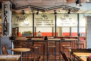 Ресторан Frank на Петроградской стороне