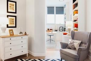 Белый дом: 5 правил для монохромного интерьера