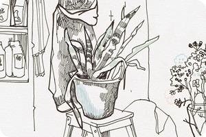 Клуб рисовальщиков: Кофейня LES