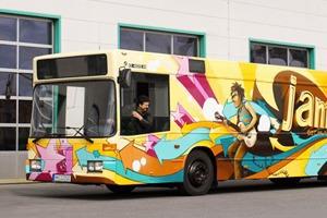 Как превратить городской автобус в студию звукозаписи