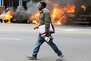 Протест по-балтиморски в снимках Instagram
