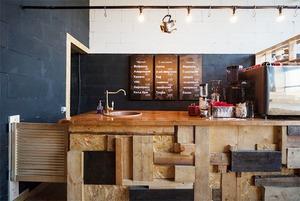 Кофейня Coffee 3 в лофте Contour