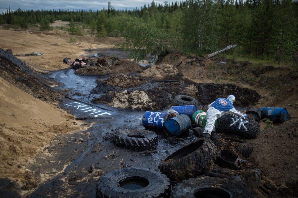 Как леса Коми очищают от нефти. Изображение № 34.
